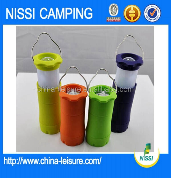 Nissi Leisure Rechargeable LED Solar Camping Lantern