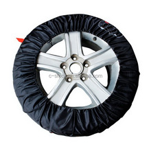 Portable wheel protector seasonal tire storage bags