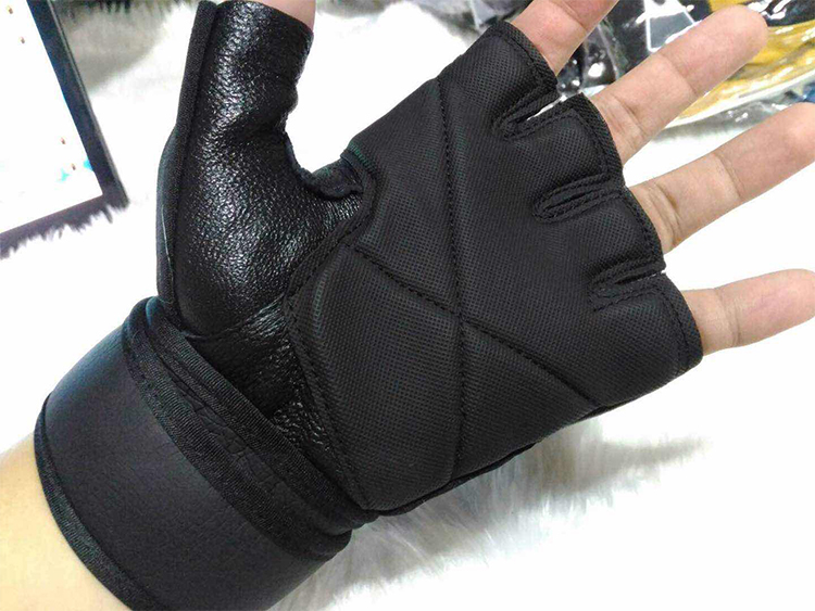 Hot Sale Sheepskin Cross Fit Weight Lifting Training Gloves