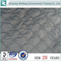 China wholesale market mirror embroidery fabric
