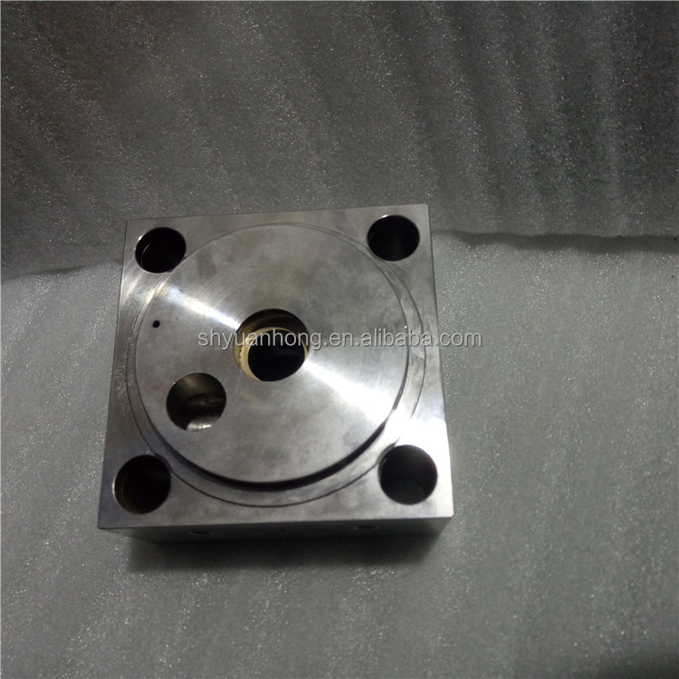 hot hobby and professional water jet cutting machine pump intensifier 60K parts End Bell Assy/left YH007303-2 yuanhong