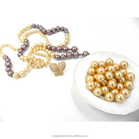 Bead Landing Wholesale Golden Color Round