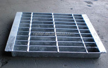 Hot dipped galvanized drain covers and grates