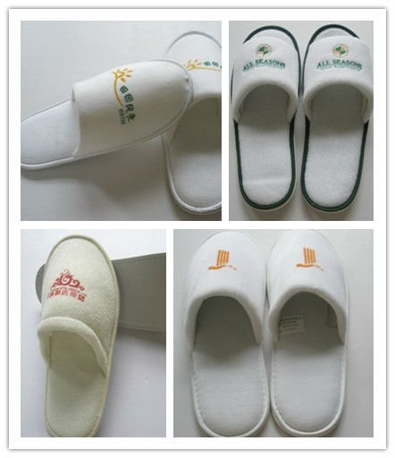 slap-up one-off hand-made slippers hotel slippers