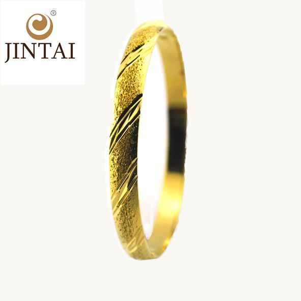 2016 fashion bangle jewelry 18k gold plated bangles brass bangle