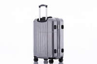 ladies fashion travel house fashion design pc spinner metal frame strong luggage