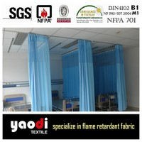 fireproof ready made antibacterial medical partition curtain