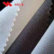 Adhesive Non-woven Tricot Trousers Interlining Fabric with PA Glue