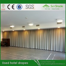 Used Hotal Stage Drapes /Curtains for sales
