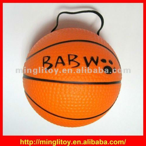 Customized soft toys / Logo Printed Basketball Stress Ball