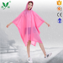 New Products Safety Item Printed Waterproof Eco-Friendly Bicycle Rain Poncho