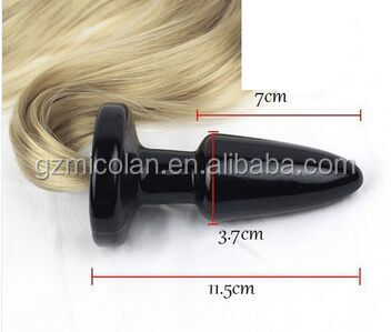 china new arrival sex product long tail women butt plug sex toys