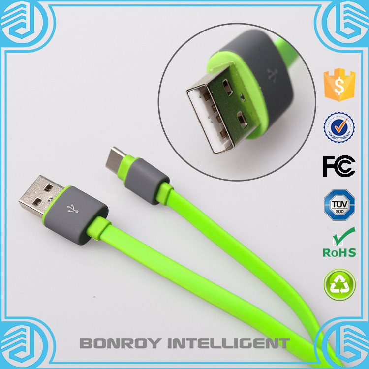 portable data packing all in one flat mini high speed multi charger type c colorful micro usb 2.0 cable