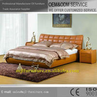 Customized latest 2 zone soft leather massage bed sales