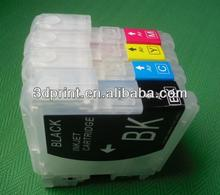 Normal size Refillable ink cartridge for Brother LC39
