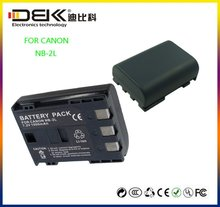 NB-2LH rechargeable camera battery For CANON NB-2L NB-2LH 400D Rebel XT XTi
