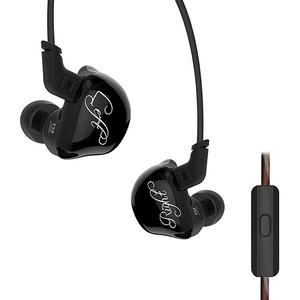 Original KZ ZSR Hybrid Earphones Balanced Armature Dynamic In-ear Wired Music Earbuds