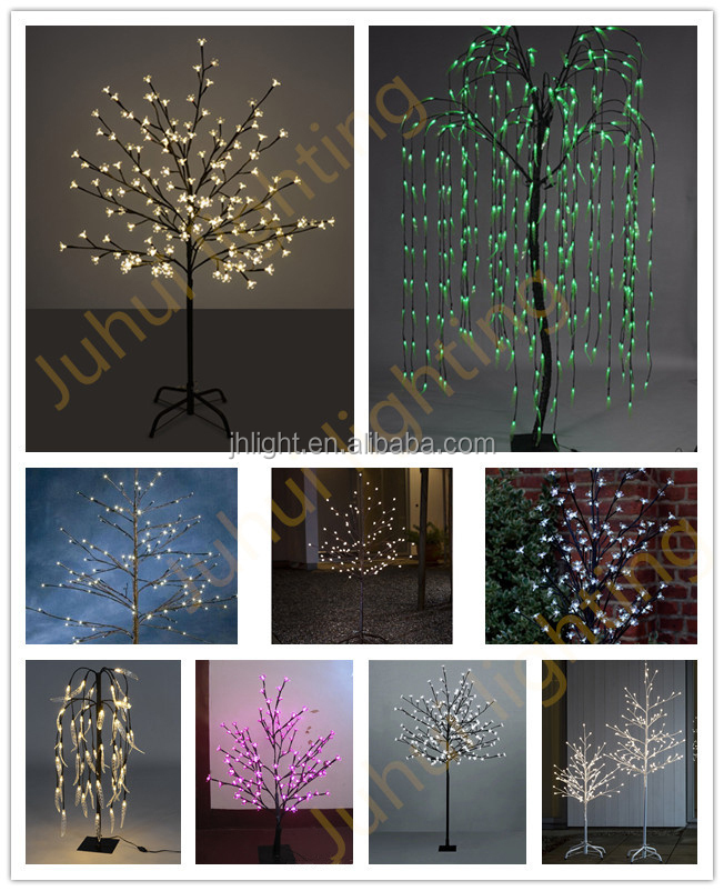 led warm white decorative tree branch lights, christmas tree led ...