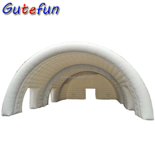 20m big frame white inflatable modular tent inflatable marquee tent for sale on party and events