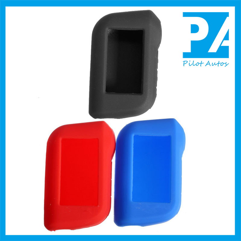 Russia Colorful Silicone Car Key Remote Cover Case Skin Set Jacket Protector For Russia Starline A63 A93