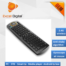 Multimedia Remote Control 6 axis gyroscope Mini Keyboard G270 2.4g Air Mouse for android tv box