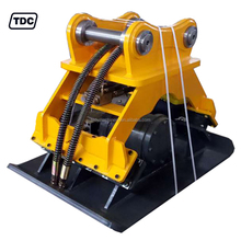 Excavator mounted hydraulic vibrating plate compactor for sale