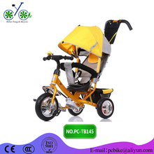 Wholesale Kids Tricycle With Back Seat/ baby tricycle with push handle/children bicycle Malaysia