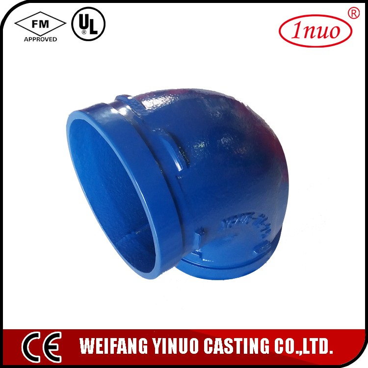 45 pipe fitting elbow short radius red painted from china factory/45 degree short radius elbow