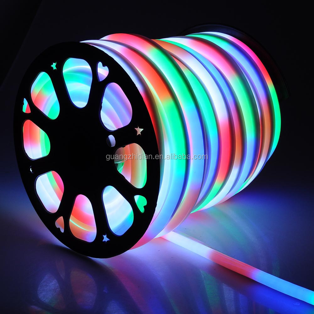led neon light led neon flex PVC RGB 240V led flexible strip light