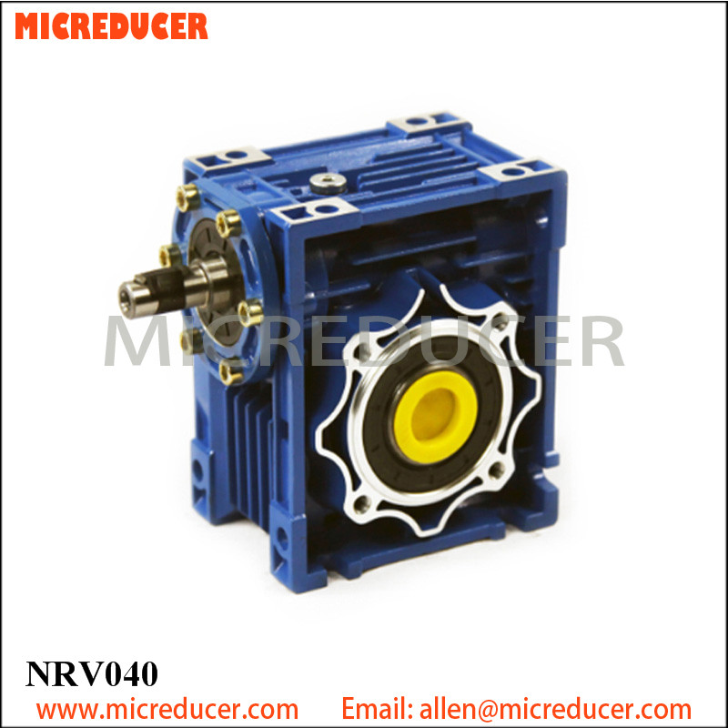 NRV 040 shaft mounted speed reducer