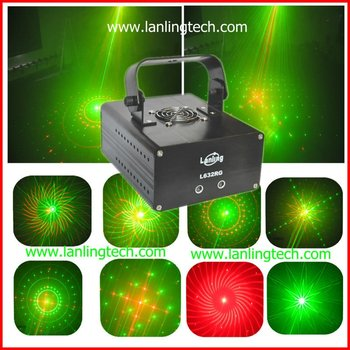 Home laser light show equipment