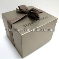 customized fancy paper box/bags for gift and clothing