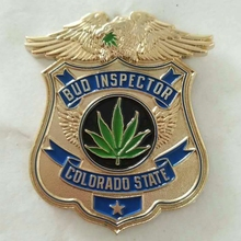 Factor Costs Custom National Police Offical Metal Badges