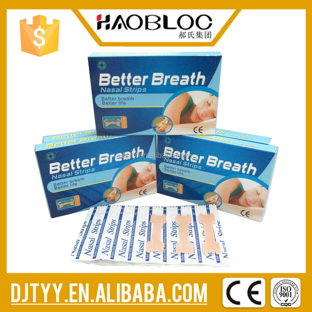 Health Care Supplements, Breathe Right Nasal Strips, Help Rhinobyon Have A Good Sleeping