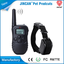 high quality anti bark shock remote control/peted electric shock dog training collar