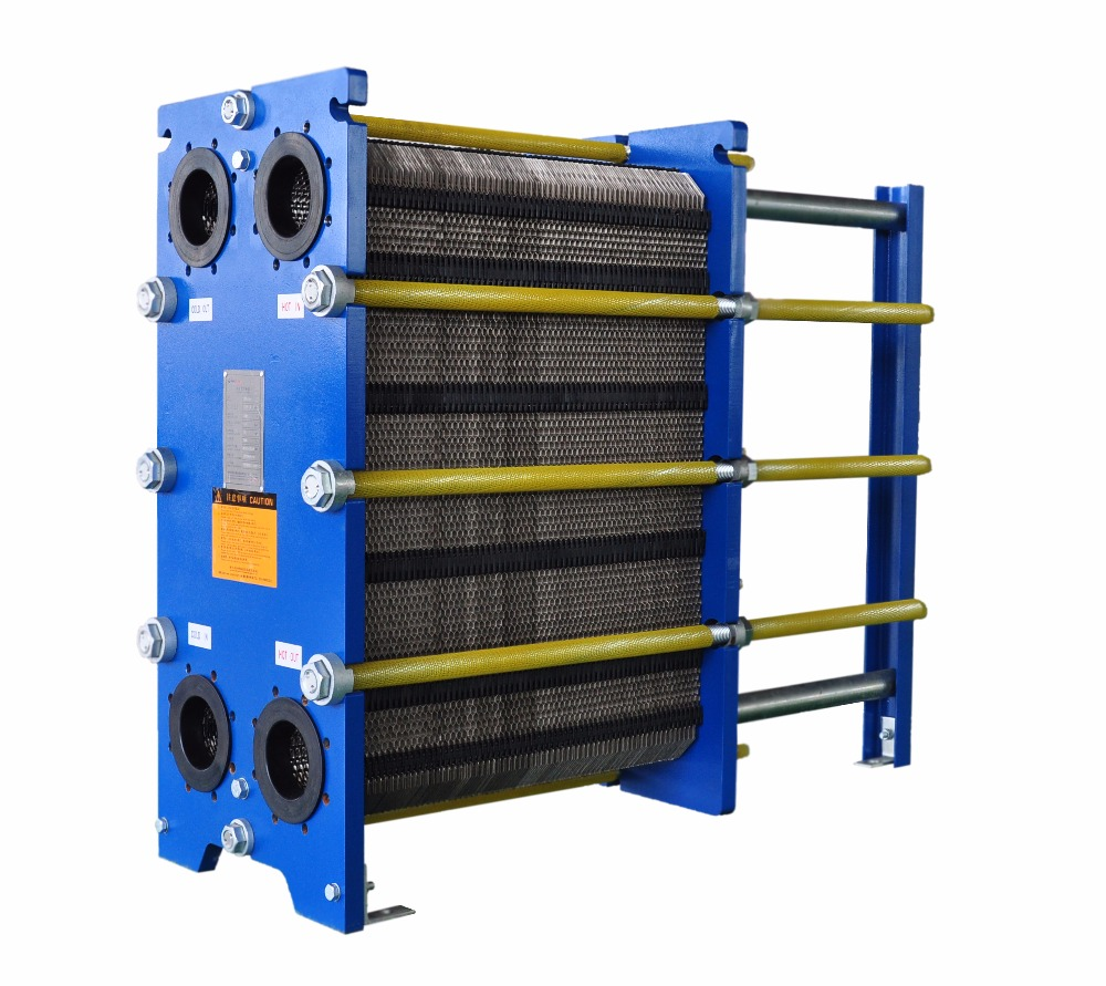 Compact Hydraulic Oil Coolers : Panstar stainless steel gasket plate heat exchanger oil