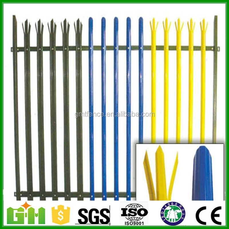 Factory Price Powder coated Steel Palisade Fence