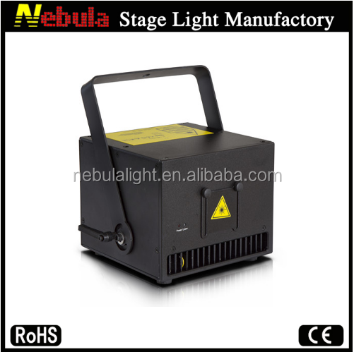 Factory price disco dj stage 2w rgb multi color beam animation laser lighting