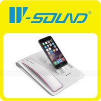 High End Retro Bluetooth Handset Docking Stations Charging for mobile phone