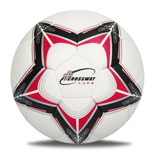 OEM logo custom print professional high quality size 5 inflatable match leather football college TPU soccer ball