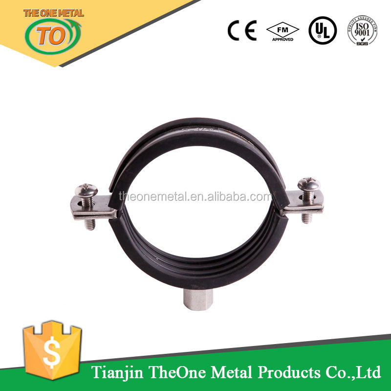 High quality hanging stainless steel pipe band clamps