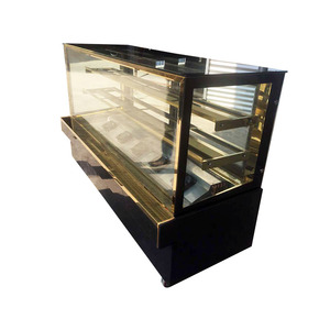 fan cooling cake showcase marble display cases freezing cabinet