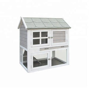 China manufacture bunny barn customized rabbit hutch