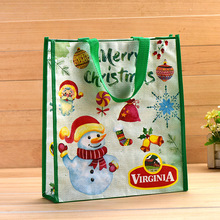 2017 Hot Selling chrismas products non woven pp tote bag for shopping promotion