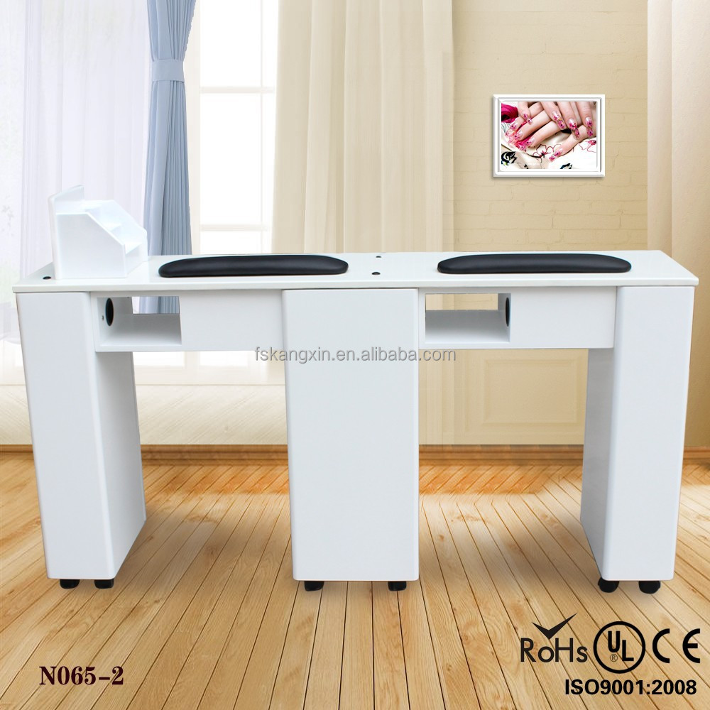 List manufacturers of white manicure table buy white for Nail salon equipment