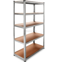 lighted display heavy duty metal warehouse shelving