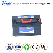 Chinese manufacturer automotive 12v 100ah DIN car battery with high capacity