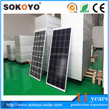 2014 NEW High quality Good price 100 watts solar panels