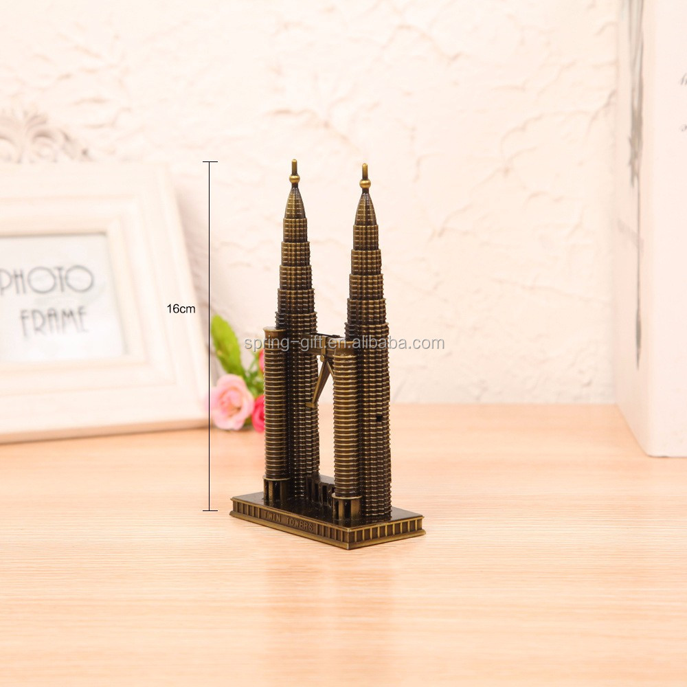 Promotie gift Maleisië Petronas Twin tower model building
