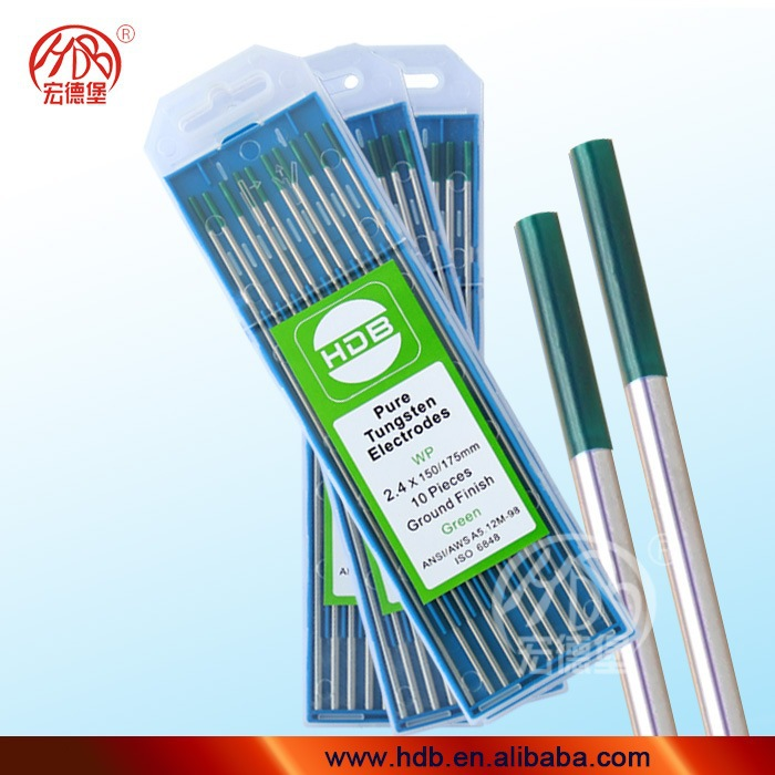Production Price favorable & good quality tungsten electrode